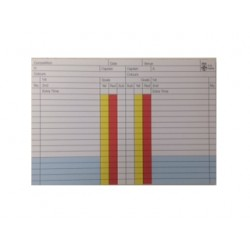 Colour Match Record Pad (x50 sheets)
