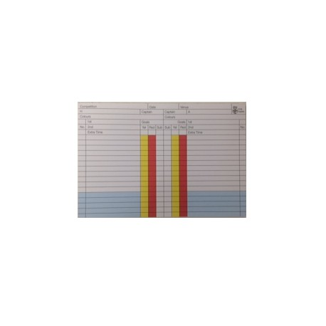 Colour Match Record Pad (x50 sheets)