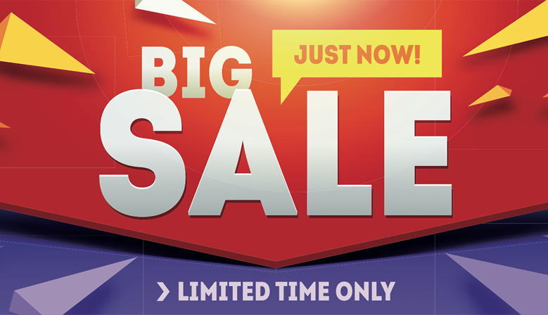 The RA BIG Sale Event