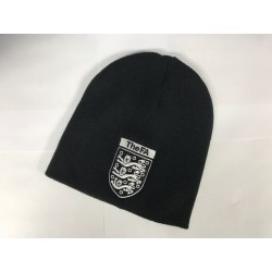 Beanie hat with badge